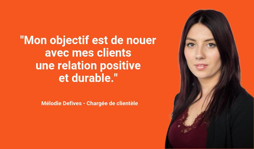 Melodie Defives -experte Verspieren Clientèle Privée