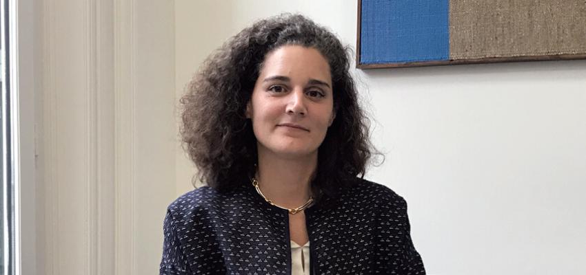 Stéphanie Conté, Responsable des visites de Risque Art et Clientèle Privée chez Hiscox
